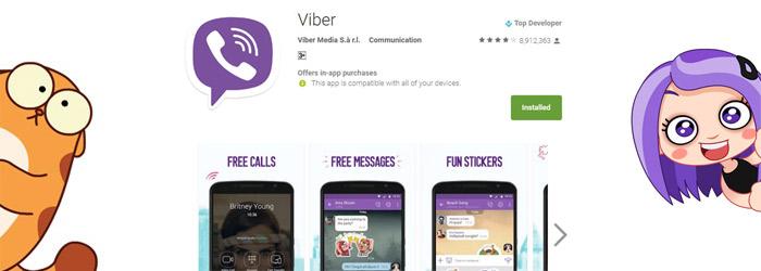 Google play-viber